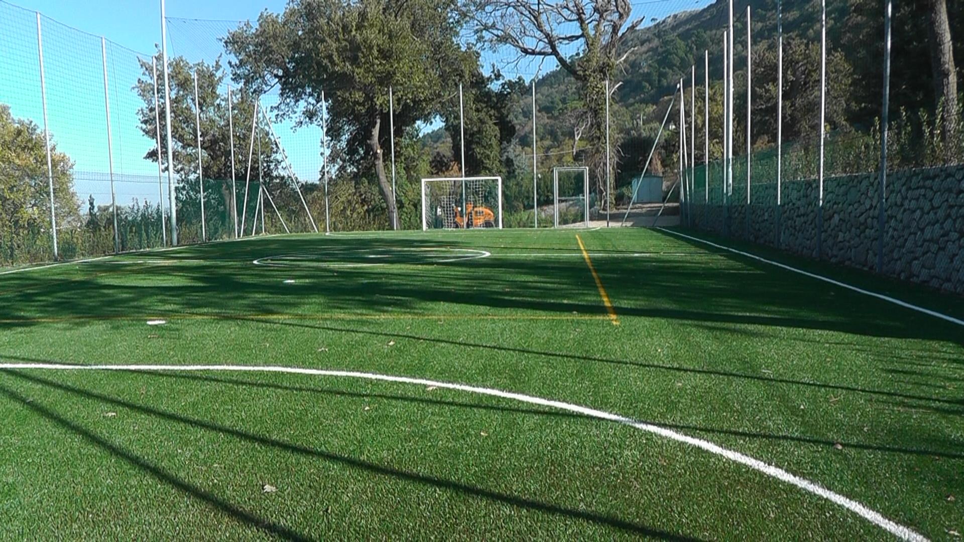 Arcoclub Capri  presente nel nuovo comprensorio sportivo Cerio  di Anacapri