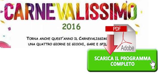 """""""Carnevalissimo 2016 """" Scarica il Programma Completo di Capri"""