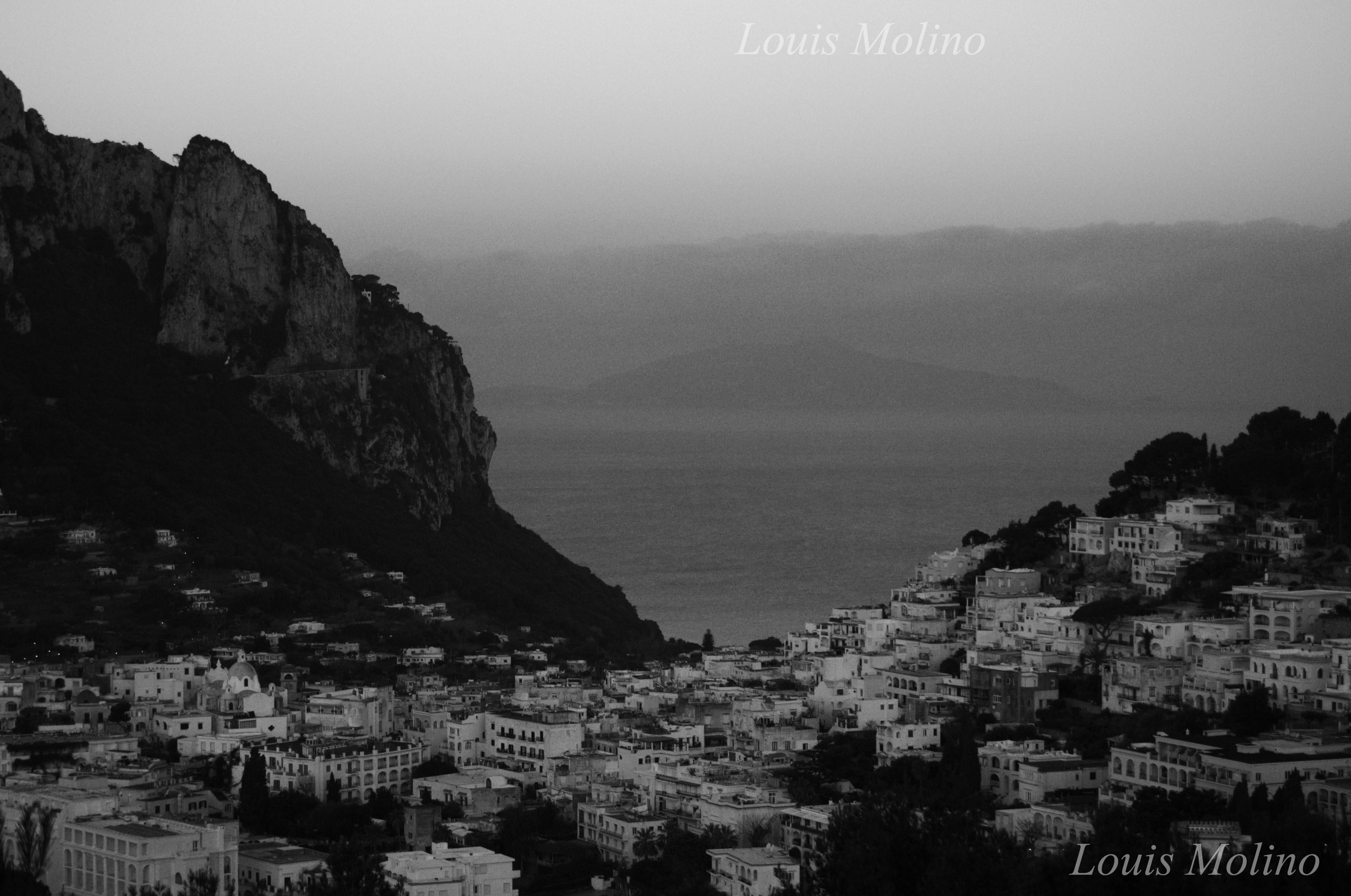 A Capri anche un Black Out Elettrico diventa affascinante ( Cronostoria )
