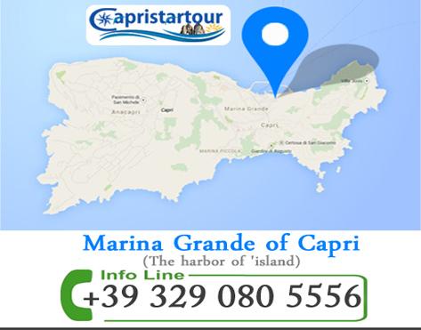 mappa capristartour