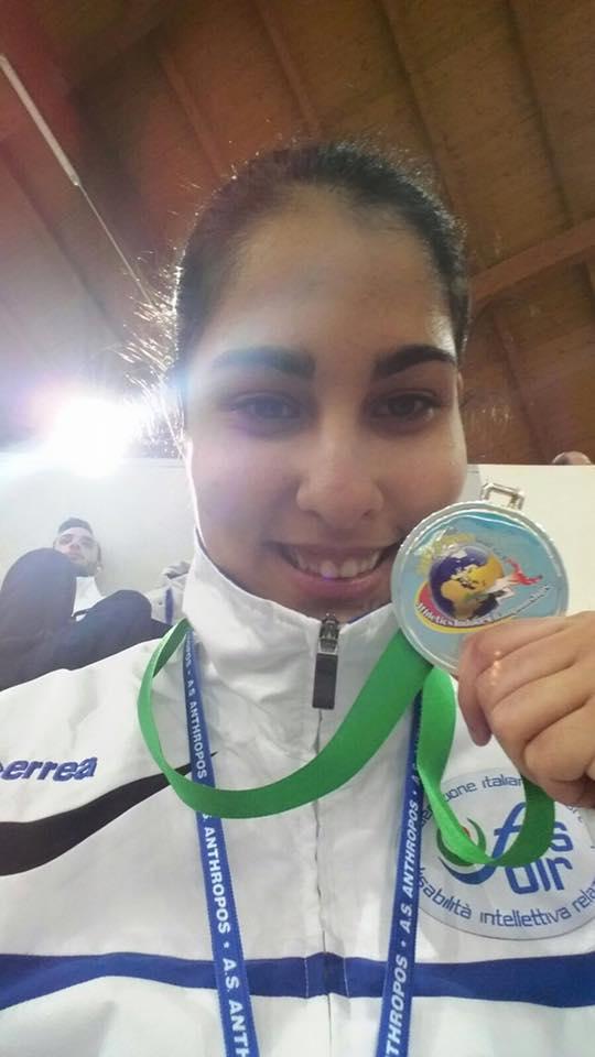 Sport:  La caprese Giulia Cataldo Argento nella staffetta 4×400 ai Mondiali Inas di Ancona