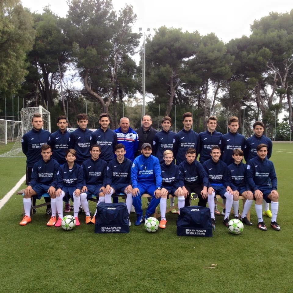 L'Asd Anacapri ospita l'Accademia Calcio Sorrento per una speciale giornata di Sport