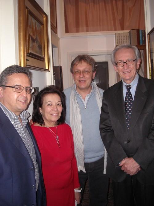 Enzo, Clara, Sergio e Mimmo Liguoro