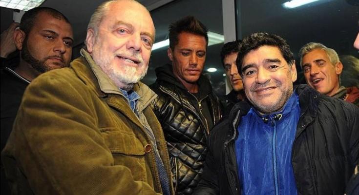 Maradona in volo in elicottero verso Capri, ma é pesce di Aprile del portale Caprinews