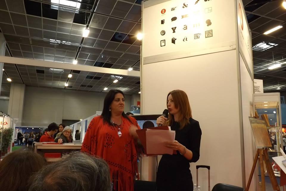 Annalena Cimino & Intermedia Edizioni, grande successo al Salone Internazionale del libro di Torino 2016