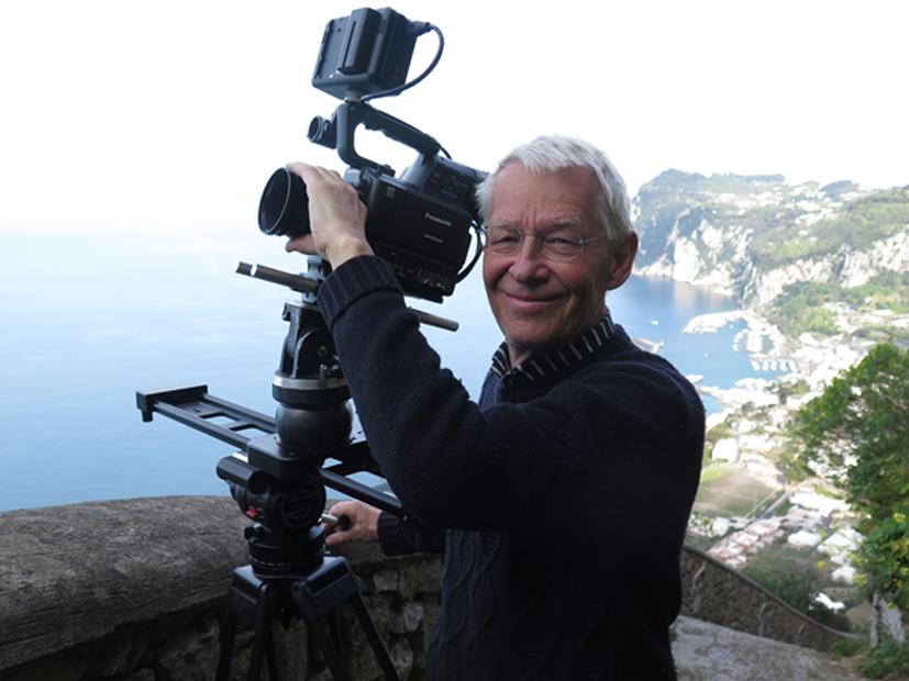 Villa San Michele Capri: Presentazione del cortometraggio  Förbjuden kärlek – Amore proibito