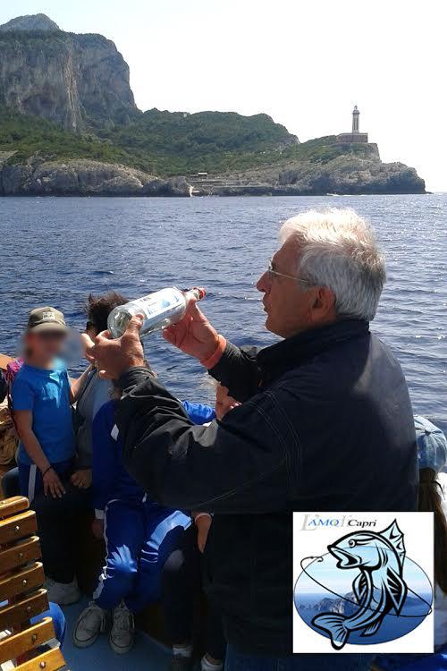 """""""Capri l'Isola del mare""""  il corso di educazione ambientale e culturale promosso da L'amo di Capri & Anmi"""