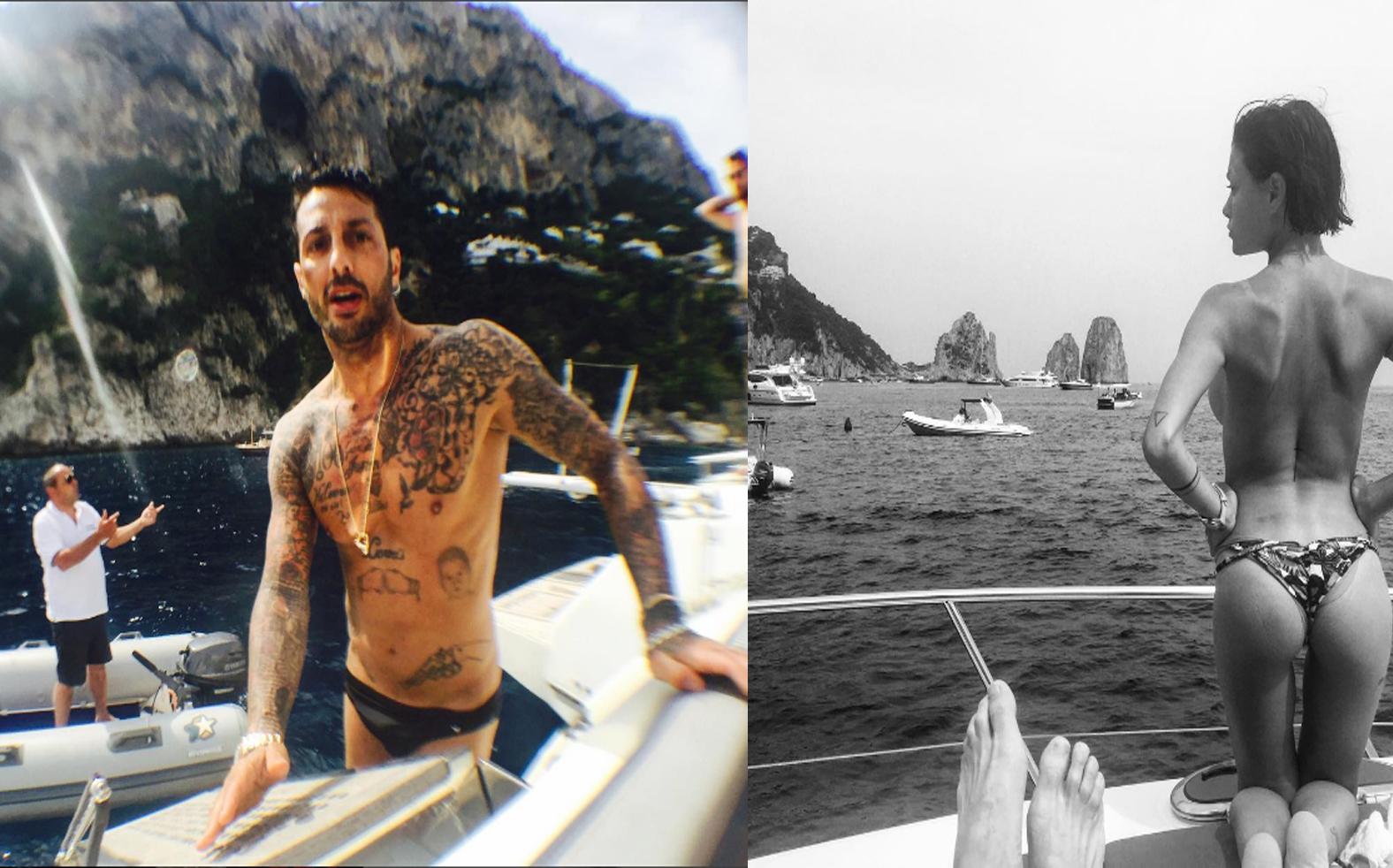 Vip:  Capri fa riaccendere la passione tra Fabrizio Corona e Silvia Provvedi ? (FOTO)