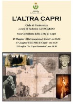 """""""L'ALTRA CAPRI"""" al via il ciclo di conferenze a cura di Federico Guiscardo Ramondini"""
