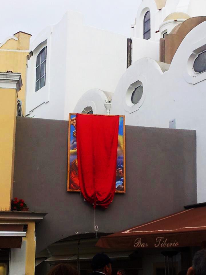 Religione: Oggi si innalza il Quadro di San Costanzo nella Piazzetta di Capri