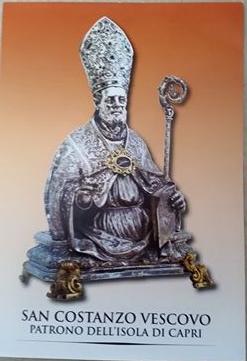 Capri. Feteggiamenti in onore di San Costanzo patrono dell'isola, il programma 2017