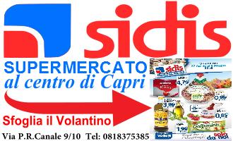 Volantino Sidis Capri
