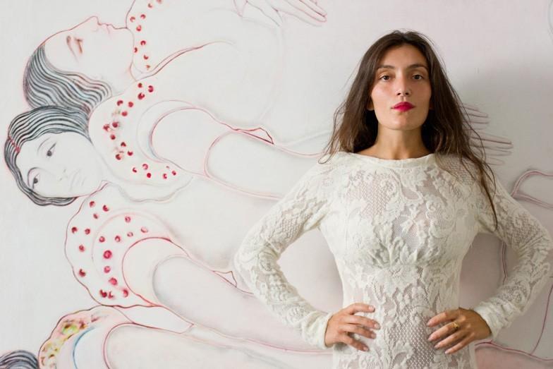 """""""Capri Reverie"""" di Sofia Cacciapaglia a Capri il Vernissage della mostra curata da Federico Guiscardo"""