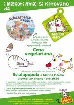 Cena Vegetariana per sostenere chi aiuta gli animali dell' isola di Capri