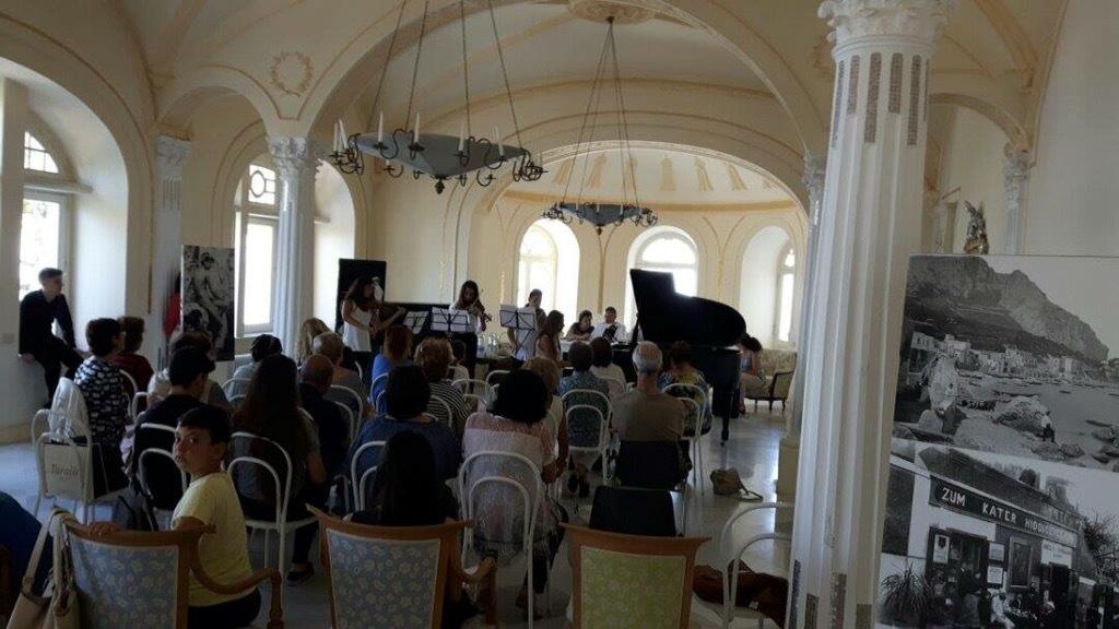 Capri: Grande Successo al Premio Paolo Falco, a Villa Lysis vince un giovane musicista napoletano