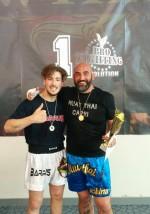 Il caprese Giuseppe de Simone conquista il primo posto ai campionati nazionali Wtka, K1 light +94kg.