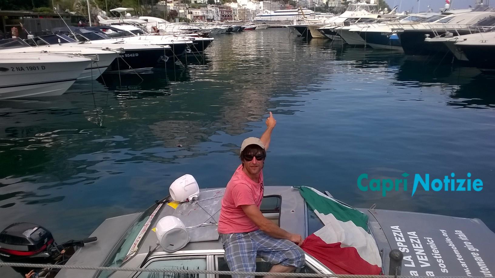 Da La Spezia a Venezia passando per Capri con l'auto subacquea di Marco Amoretti    (Intervista Video)