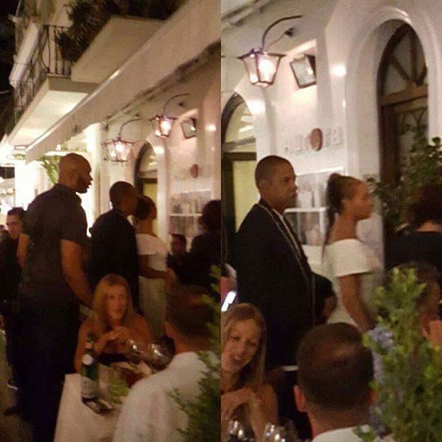 Beyoncé  e Jay-Z a Capri  dal lussuosissimo panfilo alle delizie della cucina caprese
