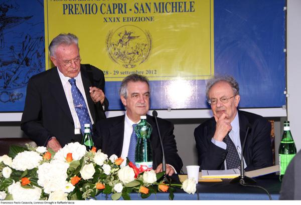 LE OPERE VINCITRICI DELLA XXXIII EDIZIONE DEL PREMIO CAPRI S. MICHELE