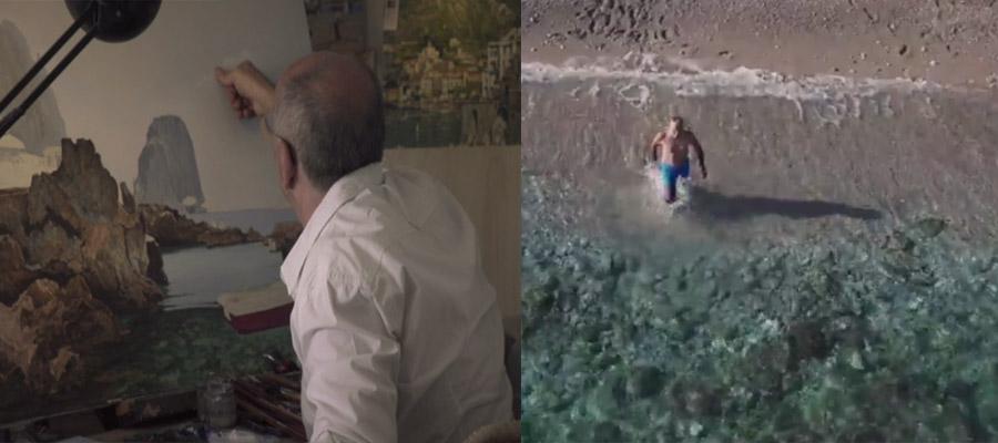 """""""Eroi Moderni"""" da Capri gli Spot per la Giornata Nazionale del Parkinson"""