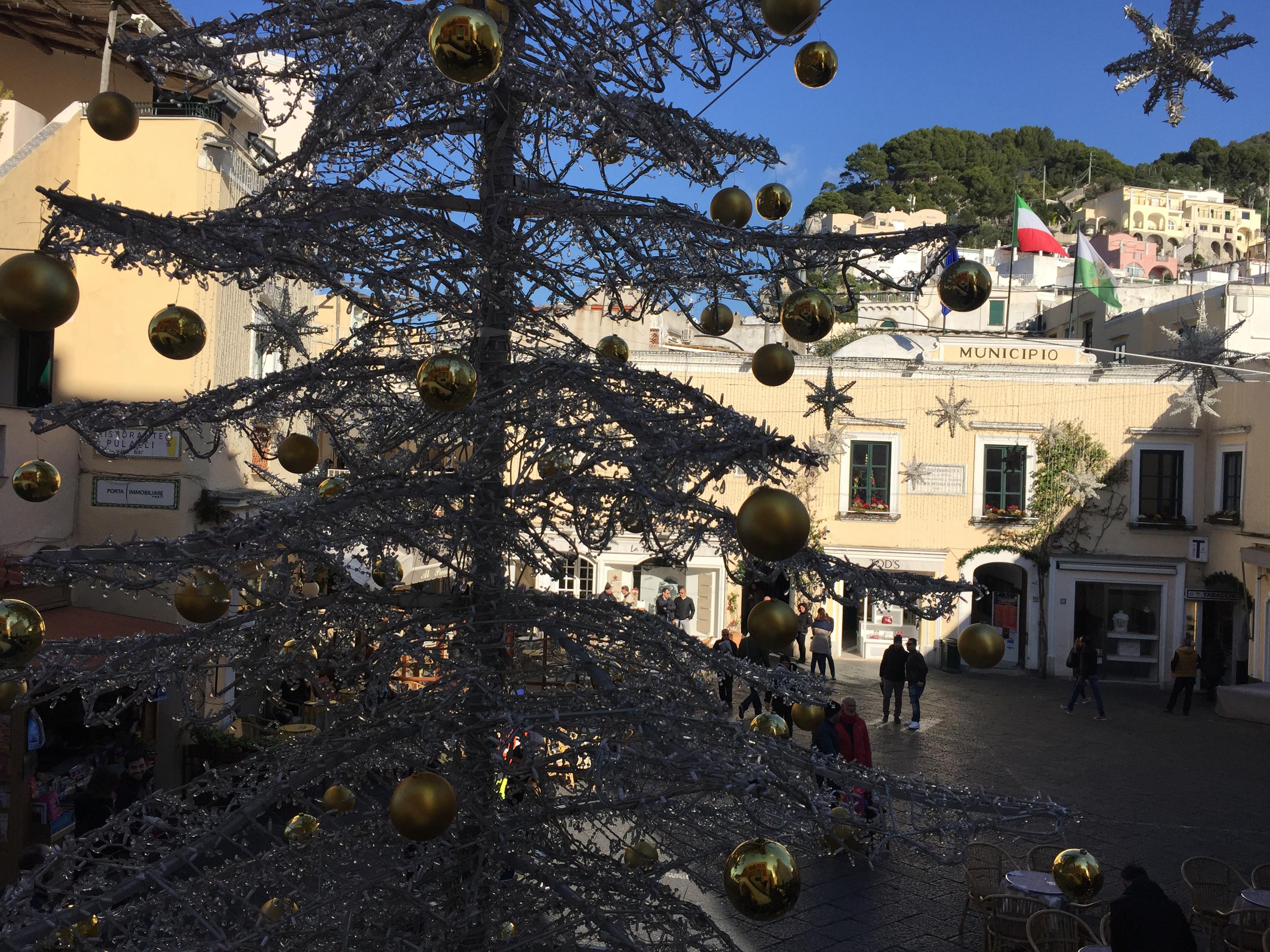 Natale e Capodanno a Capri; Hotel, B&b e Case Vacanze aperti