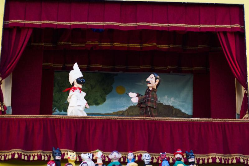 Capri: Arriva lo storico Teatro dei Burattini dei F.li Mercurio