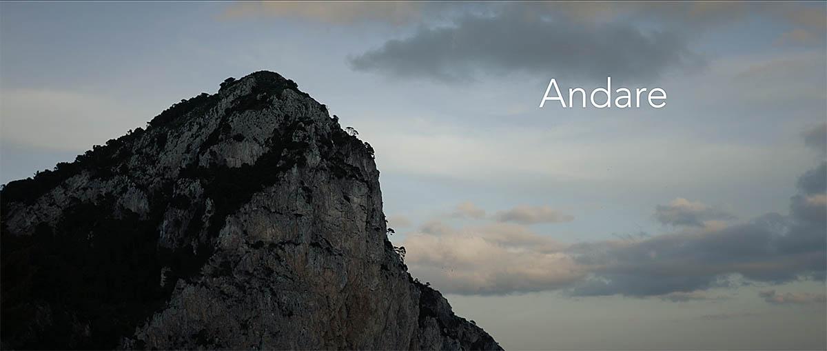 """""""Andare"""" in anteprima a Capri-Hollywood il nuovo cortometraggio tutto caprese"""