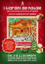 """""""Giardini del Natale"""" a Capri  dal 3 al 11 Dicembre, mercatini di Artigianato e Beneficenza"""