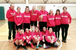Basket a Capri: Le ragazze dell'Olimpia Capri Prime in Classifica