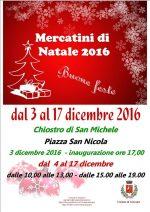 Anacapri: Mercati di Natale dal 3 al 17 Dicembre a Piazza San Nicola
