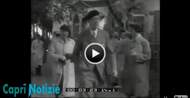 Capri Story: Il Principe Adolfo di Svezia a Capri nel 1949 (Video)