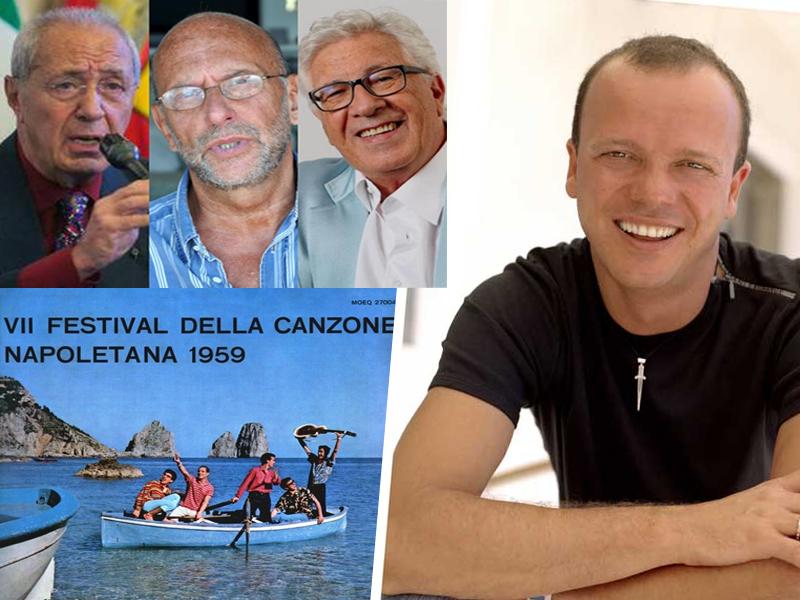 Il ritorno del Festival di Napoli? Peppino Di Capri, Cigliano e Di Francia: piace l'idea del festival di Gigi D'Alessio