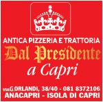 Pizzeria Dal Presidente Capri