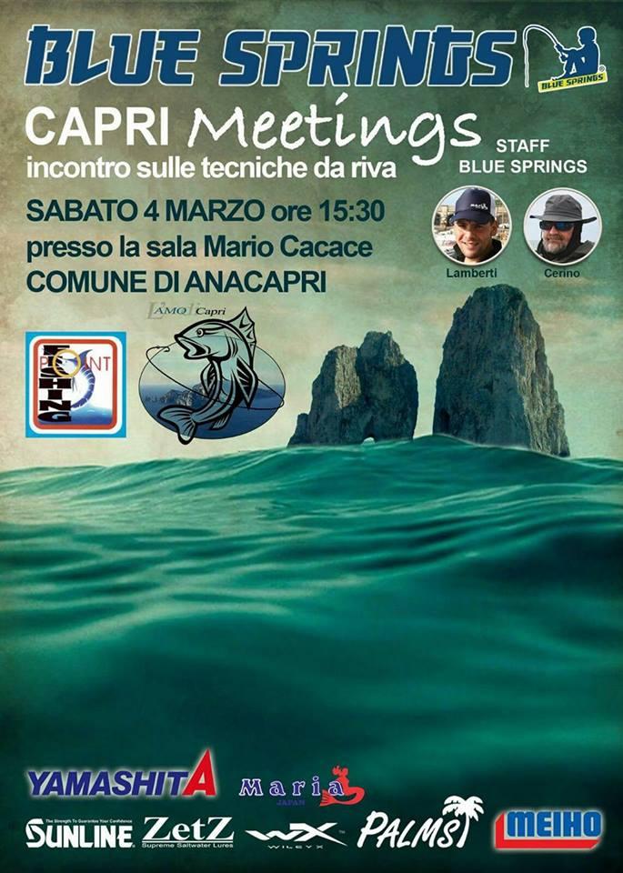 Pesca sportiva: Meetings ad Anacapri sulle tecniche da riva