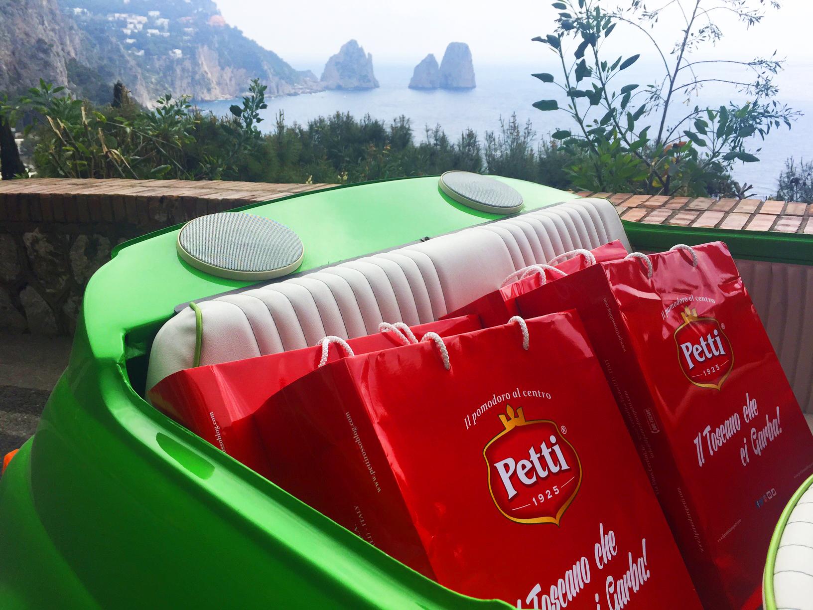 """Petti """"Il Toscano che ci Garba"""" sbarca a Capri con la linea Premium di Conserve"""