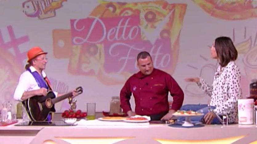 Guido Lembo ospite di Caterina Balivo nella trasmissione Detto Fatto (Video)