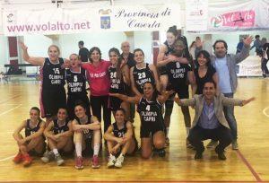 Basket Femminile, Capri entra nella storia: L'Olimpia vince il campionato e approda in serie B