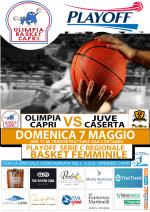 Capri. Grande attesa per la partita dei Playoff di basket Olimpia Capri vs Juve Caserta Accademy