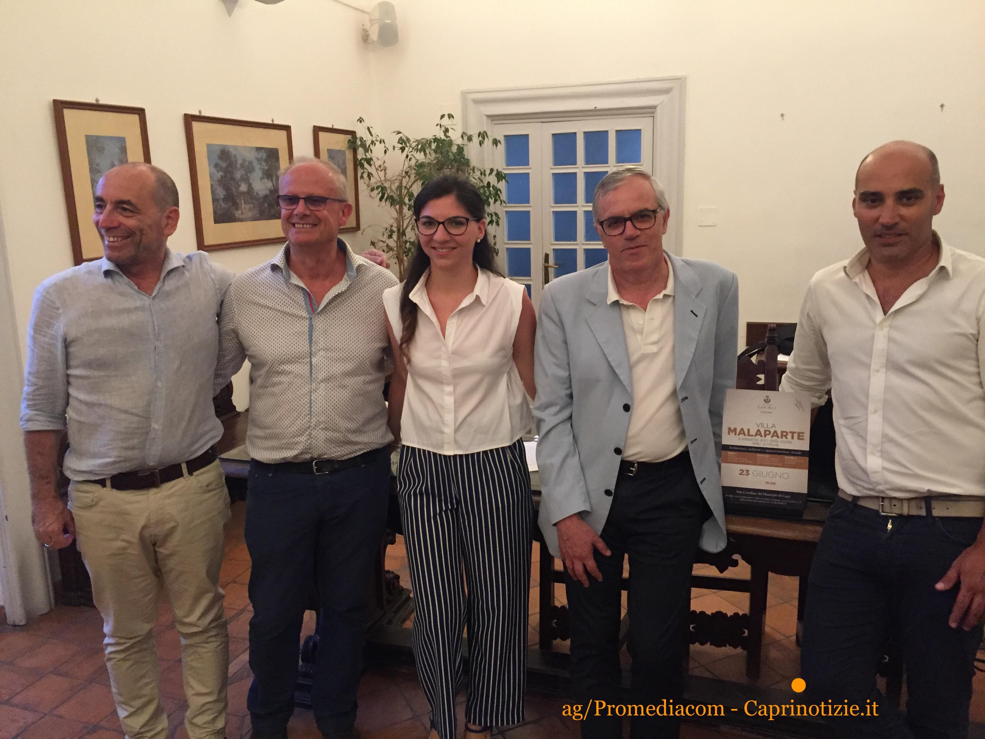 Capri. La conferenza su Villa Malaparte a 60 anni dalla morte ( foto)