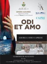 """Capri. In scena: """"Odi et amo: odio e amore caprese"""" lo spettacolo teatrale ai Giardini di Augusto"""