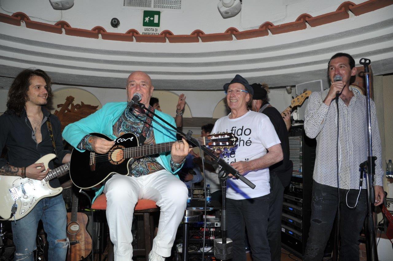 Vip a Capri.  All'Anema e Core: Della Valle, Provera, Afef,  Bertinotti, Vianello e Bonucci (FOTO)