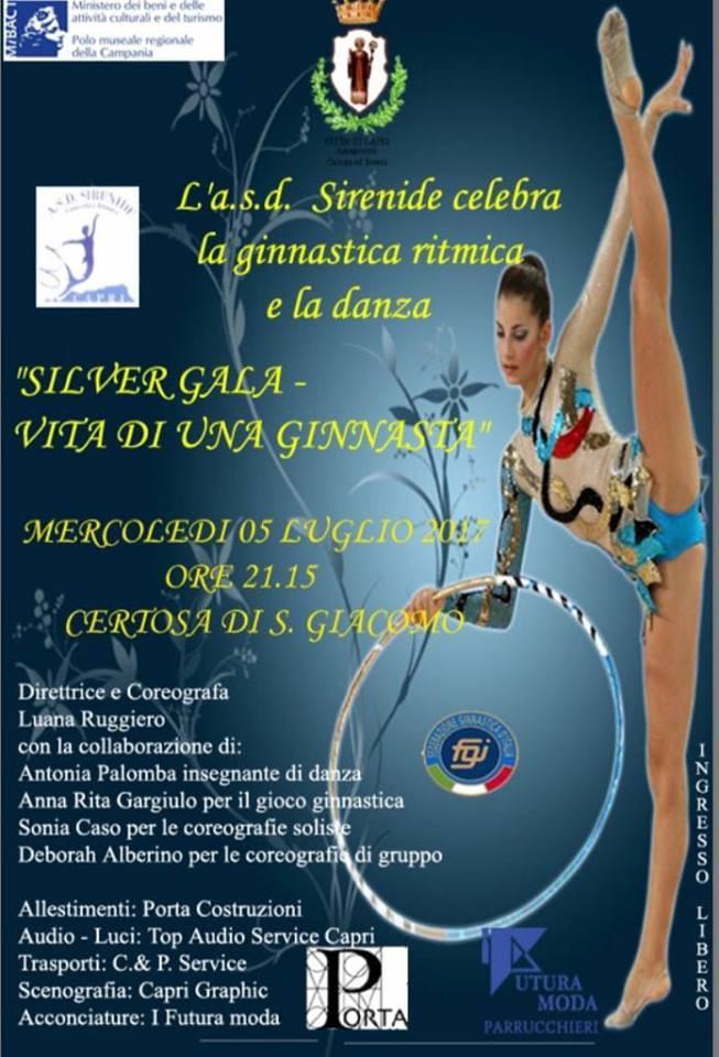 """Capri celebra la ginnastica ritmica e la danza con """"Silver Gala – Vita di una ginnasta"""""""