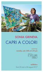 """""""Capri a Colori"""" la personale di Sonia Grineva dal 24 Luglio alla Luxury Villa Excelsior Parco"""