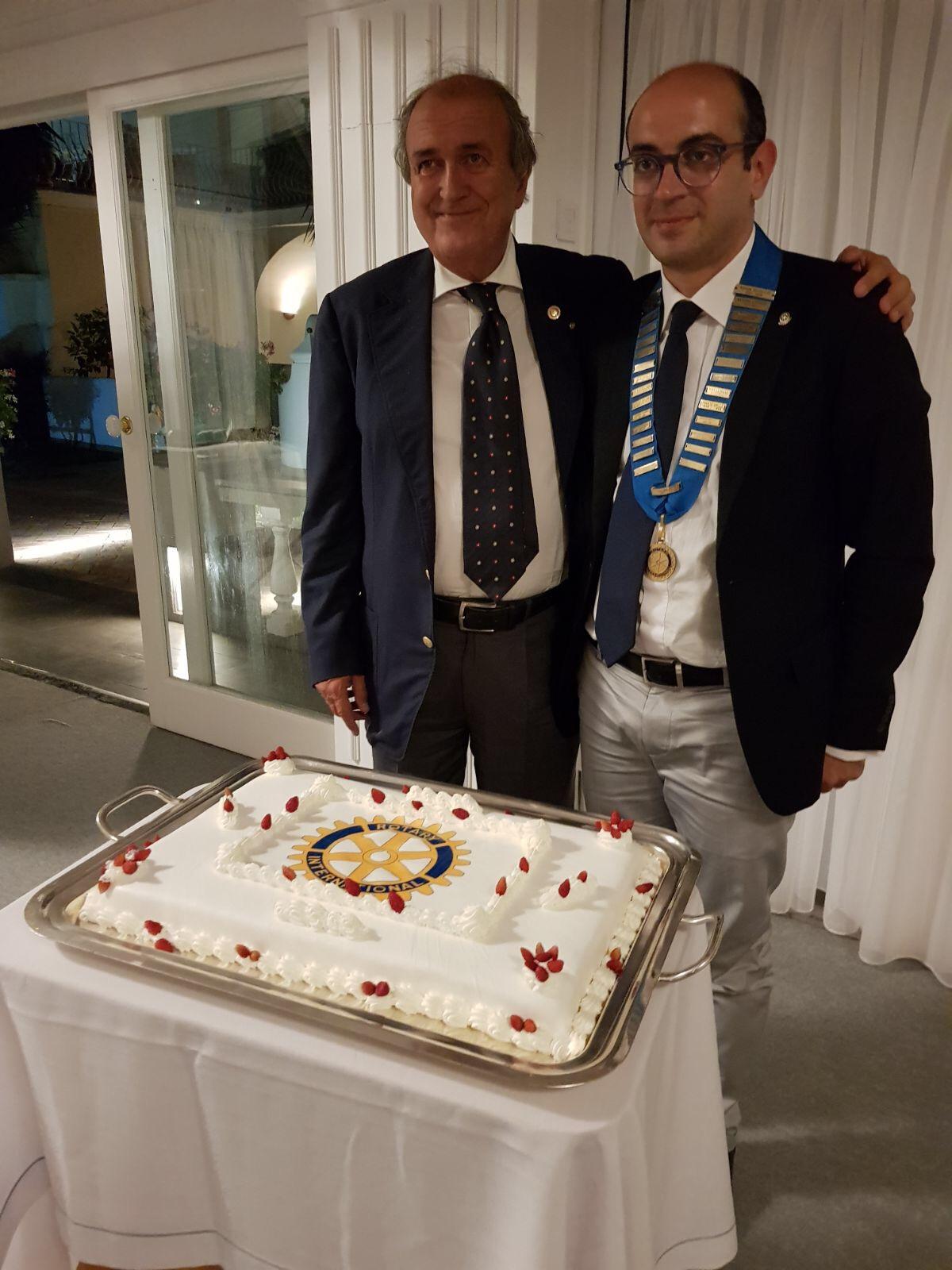 Capri. Si insedia nel Rotary Club Nicola Ruocco, il più giovane Presidente Rotary d'Italia