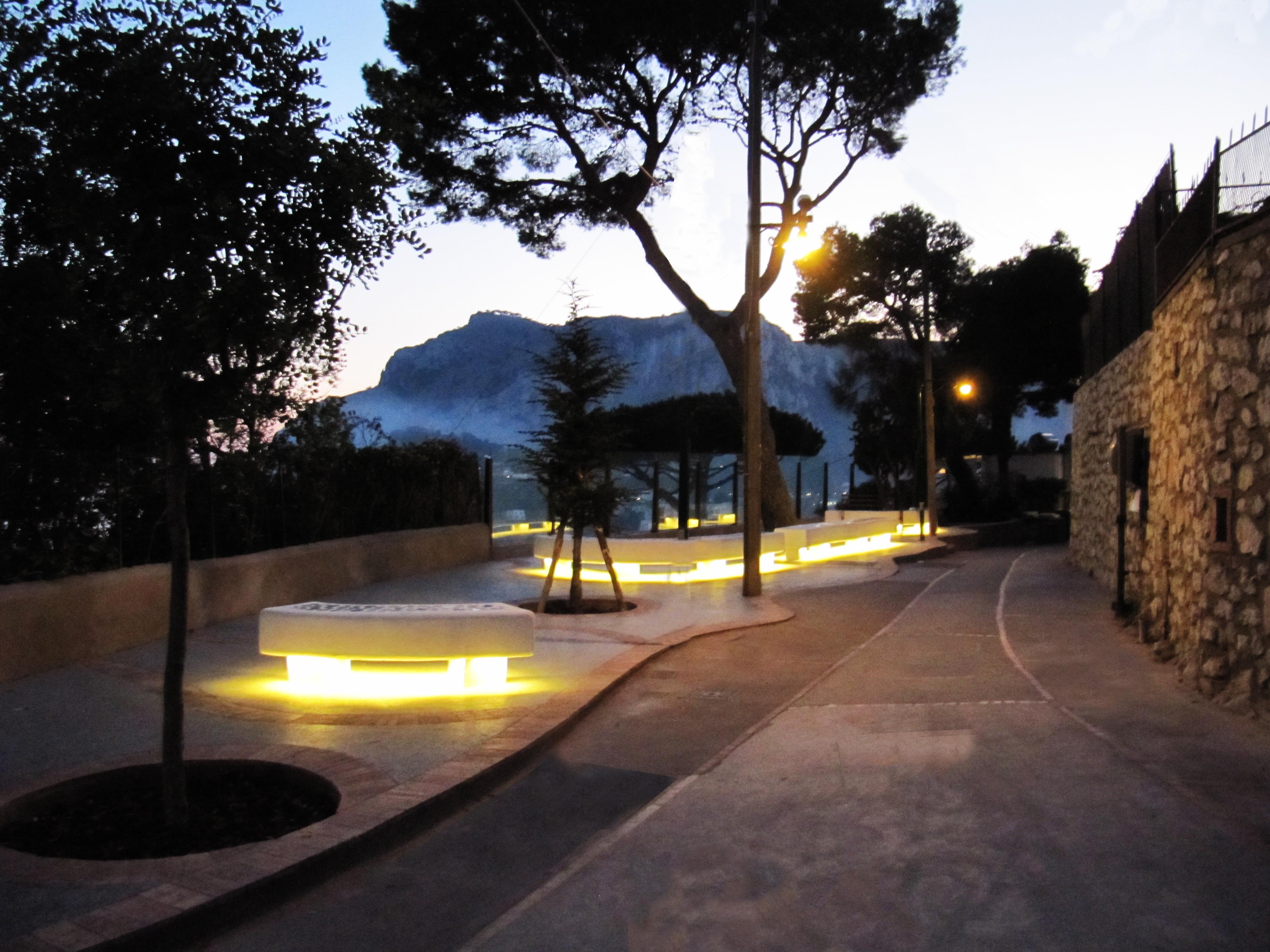 """Capri. """"Incontriamoci"""" nella nuova Piazzetta di Matermania, l'invito dell'amministrazione di Capri"""