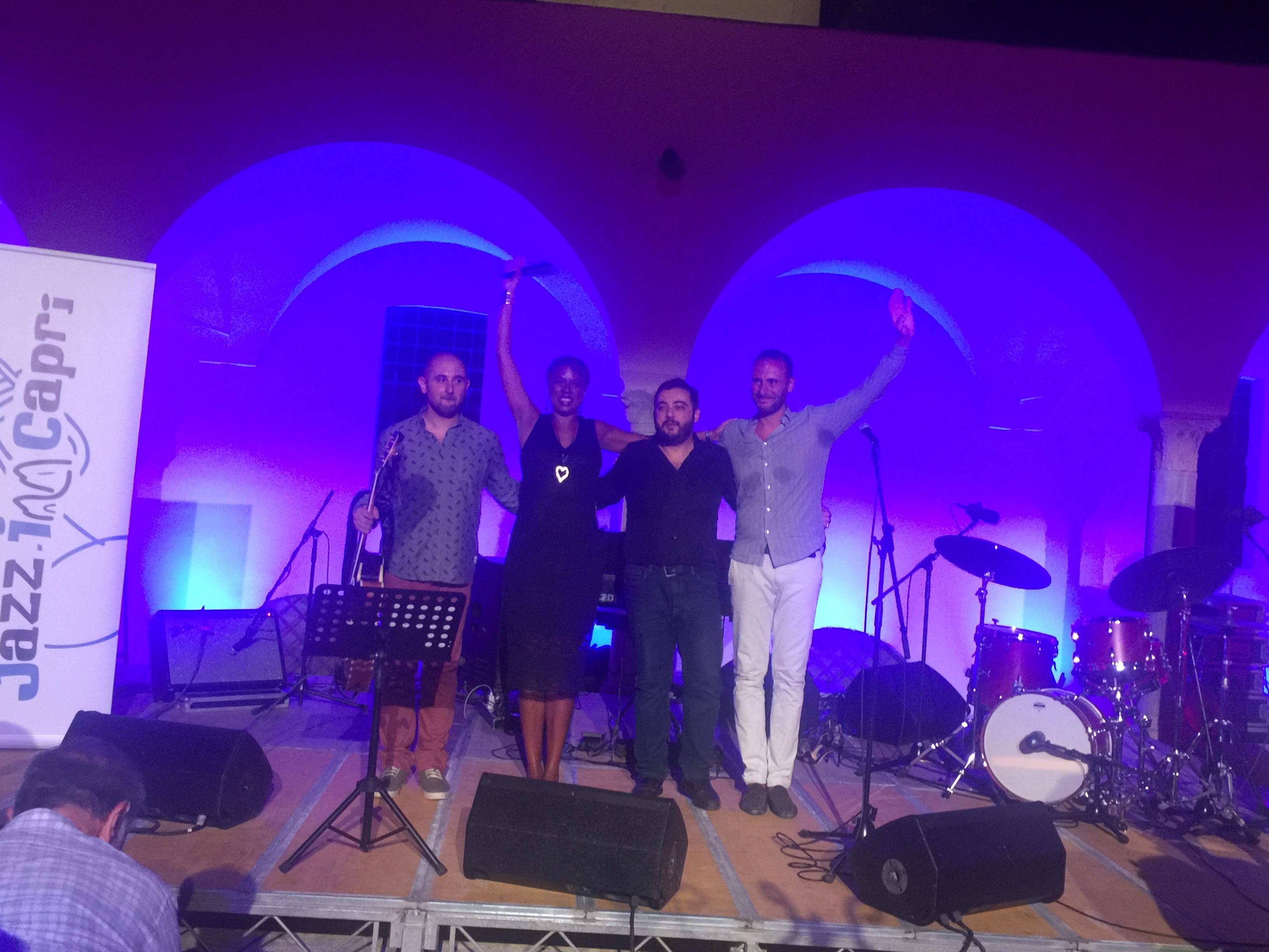 La grande voce di Joyce Elaine inaugura il Jazz in Capri 2017