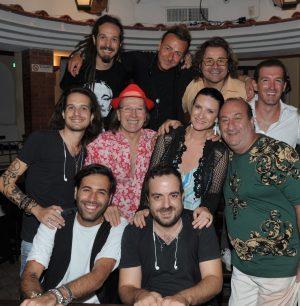 Capri. Laura Pausini, pre-serata alla Taverna di Guido Lembo insieme a Lino De Martino del Ristorante da Paolino (FOTO)