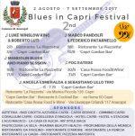 II° Blues in Capri Festival, tutto pronto per la terza settimana (PROGRAMMA)