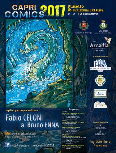 Capri Comics raddoppia, edizione 2017 sia a Capri che ad Anacapri (PROGRAMMA)