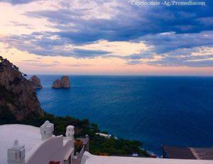 Capri. Mercoledì poco nuvoloso, venti da sud, le previsione complete